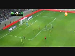 Sporting, Jogada, Carrillo, 90m