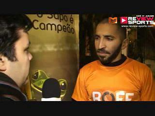 Sapo Vs Roff - Flash Interview Jonathan Vasconcelos