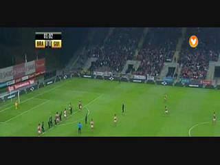 Sp. Braga, Jogada, Tiago Gomes, 1m