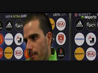 Gonçalo Alves «Este jogo foi um hino ao futsal»