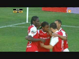 Sp. Braga, Golo, Éder, 1m, 0-1