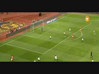 Benfica, Jogada, Maxi, 76m