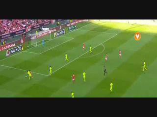 Benfica, Golo, Luís Martins (p.b.), 34m, 1-0