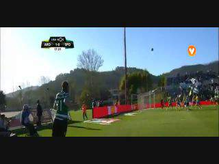 Liga (27ªJ): Resumo Arouca 1-2 Sporting