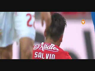 Benfica, Jogada, Salvio, 44m