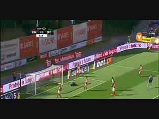 Sporting, Jogada, Gelson Martins, 4m