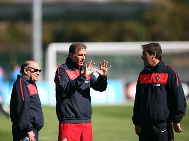 Portugal treina pela última vez antes de viajar para Port Elizabeth