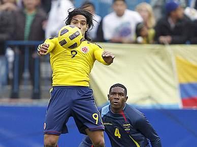 Falcao e Guarín favoritos na estreia frente à Costa Rica