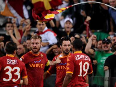 Roma impõe derrota ao Inter