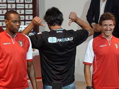 Braga apresenta novo patrocinador