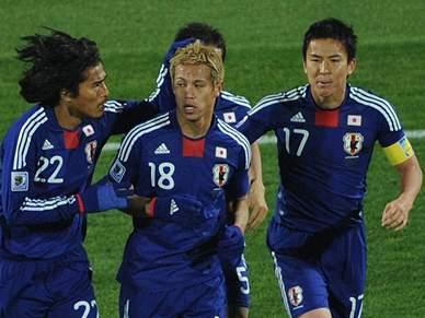 Japão ou Paraguai vão fazer história