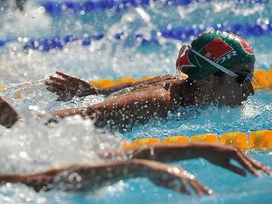 Sara Oliveira nas meias-finais dos 100m mariposa