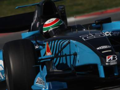 Na pole para a Fórmula 1