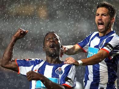 Nem a chuva trava o FC Porto