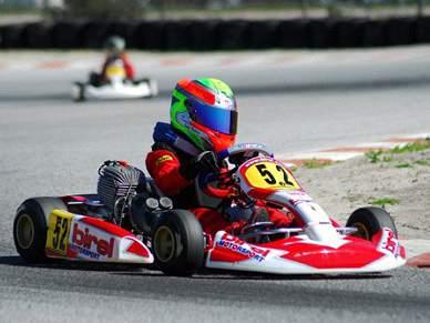Benfica aposta em jovem piloto dos karts
