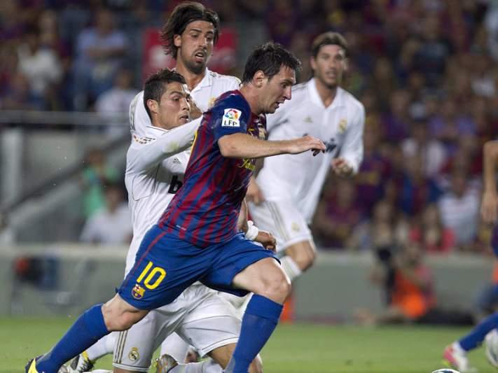 Messi também provocou Mourinho