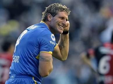 Martin Palermo iguala marca histórica de Sanfilippo, ao marcar 227.º golo