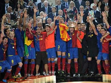 Barcelona é o favorito ao título europeu