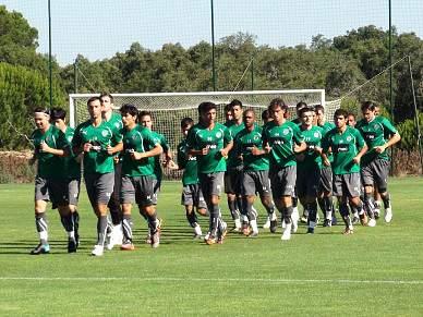 Cristiano treinou pela primeira vez com os novos companheiros