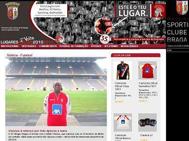 Sporting Braga contrata Vinicius