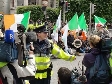 Distúrbios em Dublin