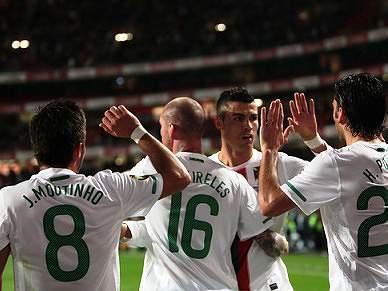 Postiga e Ronaldo empatam em golos em 2010