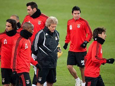 Benfica completou 100 jogos na segunda prova da UEFA