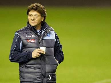 Nápoles renova por cinco anos com o treinador Mazzarri