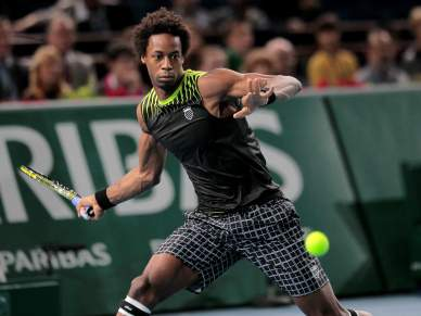 Monfils na final do Masters de Paris