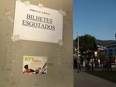 Selecção portuguesa já está em Guimarães