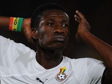 Asamoah Gyan contratado ao Rennes por 16ME