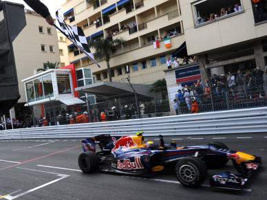 Mark Webber vence GP Mónaco