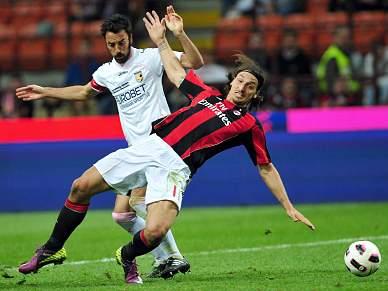AC Milan compromete na Taça