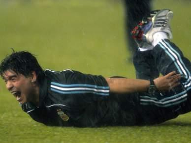 Maradona em risco para o Mundial