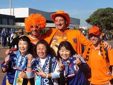 Japão junta-se à festa laranja