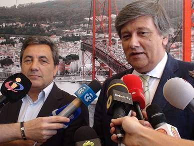 Laurentino Dias e Fernando Gomes debateram futuro do futebol português