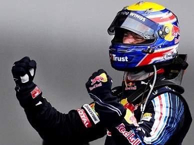 Webber vence em Barcelona