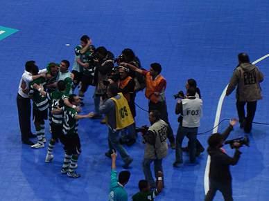 Em jogo de campeões, Sporting saiu vencedor