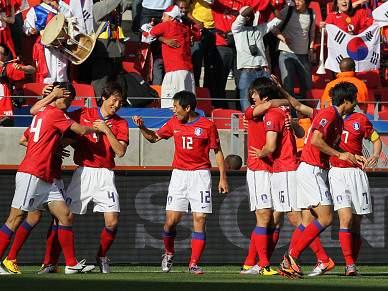 Coreia do Sul baniu 10 jogadores de futebol