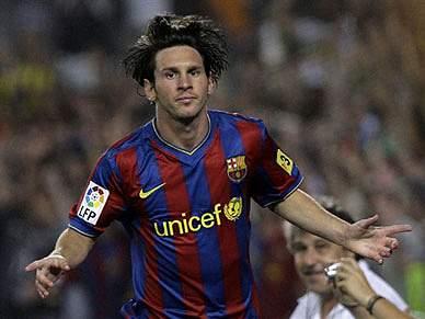 Messi sucede a Ronaldo