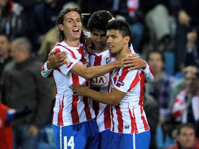 Atlético Madrid vence Rosenborg por 3-0