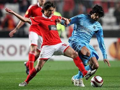 Benfica já está a caminho de Marselha