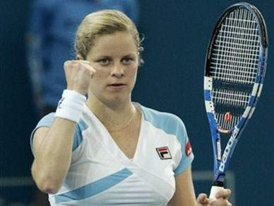 Kim Clijsters entra no top-ten
