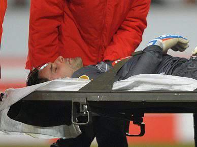 Benfica deseja melhoras a Ziegler