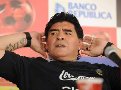 Maradona alvo de processo da FIFA