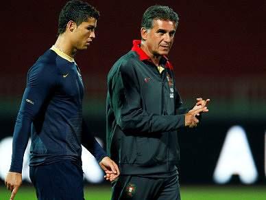 Concentração com Ronaldo em dúvida