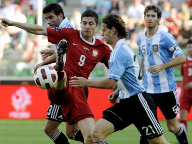 Polónia derrota Argentina por 2-1