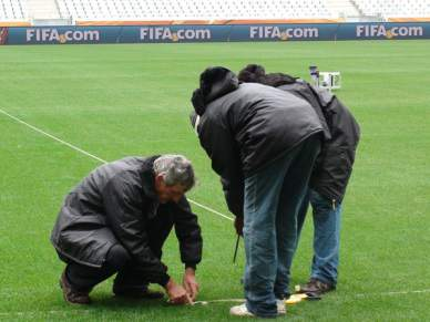 Estádio da Cidade do Cabo ainda faz ajustes finais