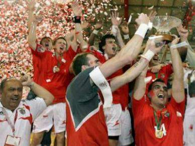 Benfica conquista prova