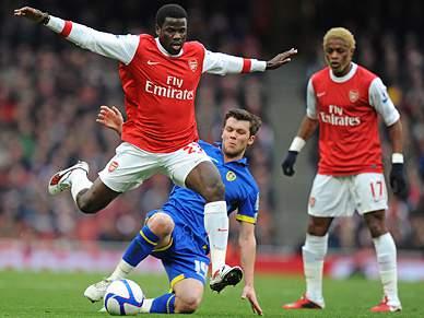 Arsenal e Leeds empatam